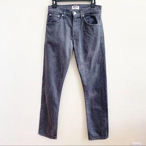 AGOLDE Light Gray Bootcut High Rise Jeans